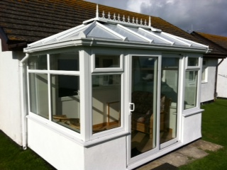 Window manufacturers in cornwall newquay plastic for Conservatory sliding doors