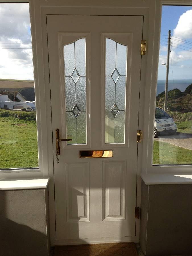 Ordinaire ... Golden Oak Composite Door Internal View