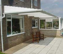 Click on the above photo to see some ex&les of our work. & Patio Canopy Cornwall: Newquay Plastics Westcountry Cornwall