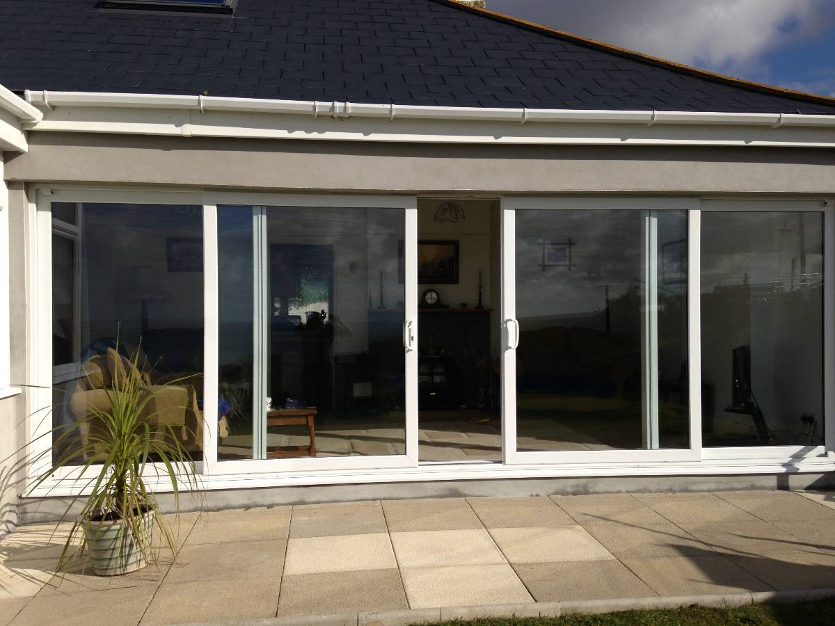 Window manufacturers in cornwall newquay plastic for External sliding doors