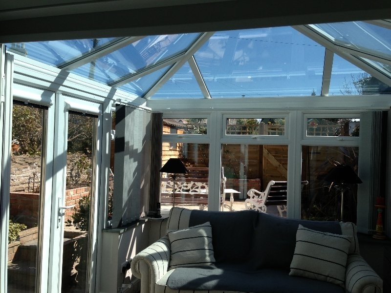 Glass Roof Georgian Conservatory 1 - Internal View