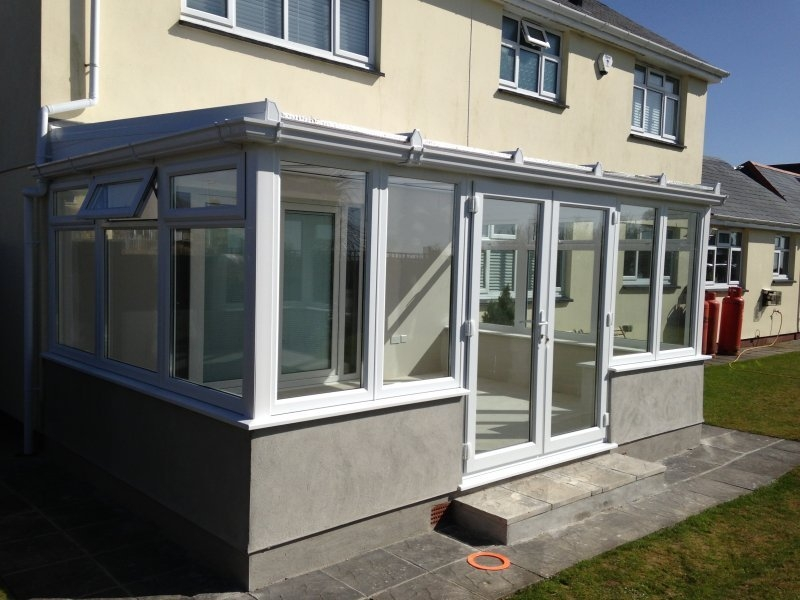 Large Lean To Conservatory 3