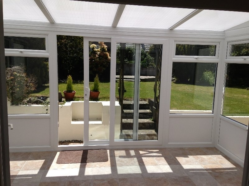 Polycarbonate Roof Lean To Conservatory With Panel Bottom 1