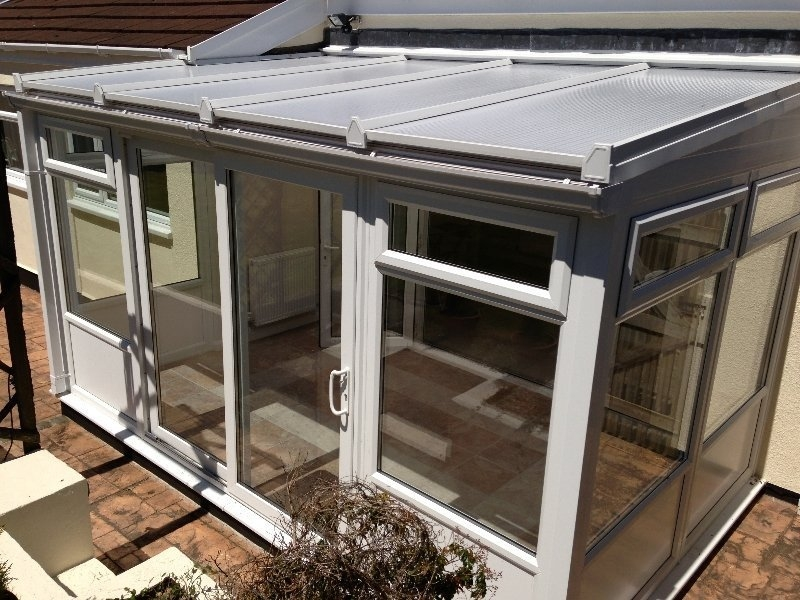 Polycarbonate Roof Lean To Conservatory With Panel Bottom 2