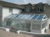 Gable Fronted Glass Roof Conservatory