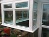 Lean To Glass Roof Conservatory With Retaining Wall 2