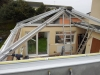 Flat Roof To Glass Roof Conversion 1