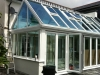 Glass Roof Gable Conservatory With Bi Fold Doors 1