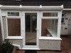 White PVC Lean To Conservatory 2