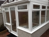 White PVC Lean To Conservatory 3