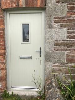 colour coded door