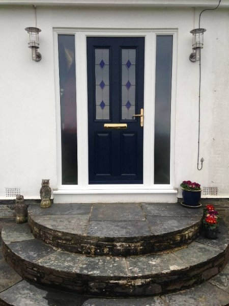 Blue Composite Door And Double Side Panels 2