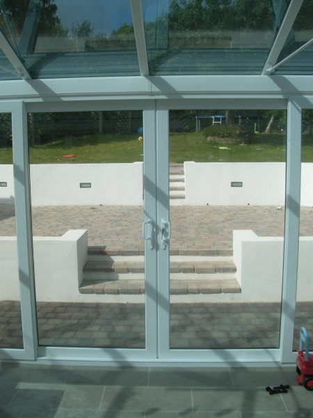 Internal View Double Sliding patio Doors 1