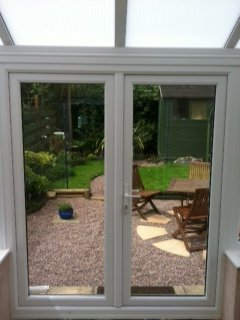 Internal View French Doors