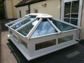 Bespoke Made Glass Roof Lantern