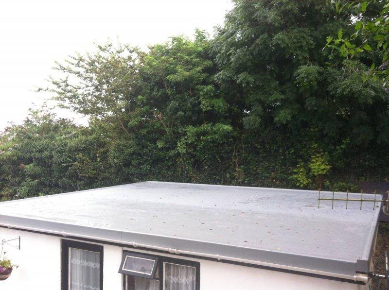 Fibreglass Flat Roof Annex 1