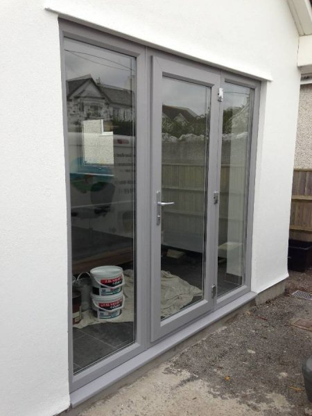 Bespoke Colur Grey PVC Door